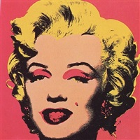 marilyn monroe (marilyn), [ii.31] by andy warhol